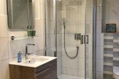 Bad-Dusche-Waschplatz