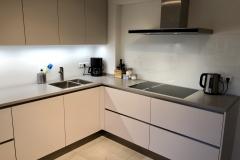Küche-Zeile-Ecke